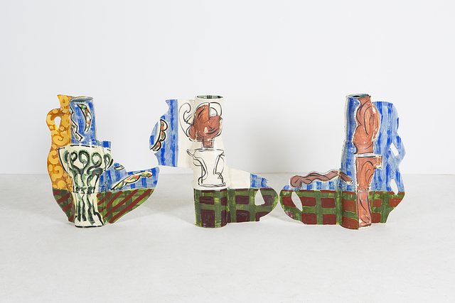 , 'Vases and Girls,' 2010, David Kordansky Gallery