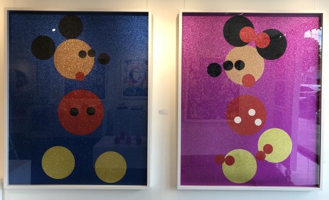 Damien Hirst, 'Mickey & Minnie ', 2016, Denis Bloch Fine Art