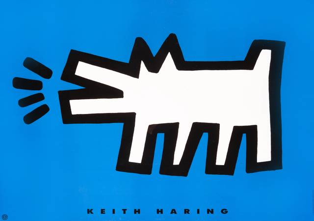 Keith Haring, 'Barking Dog', 1994, Tate Ward Auctions