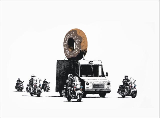 Banksy, 'Donuts (Chocolate) ', 2009, Puccio Fine Art