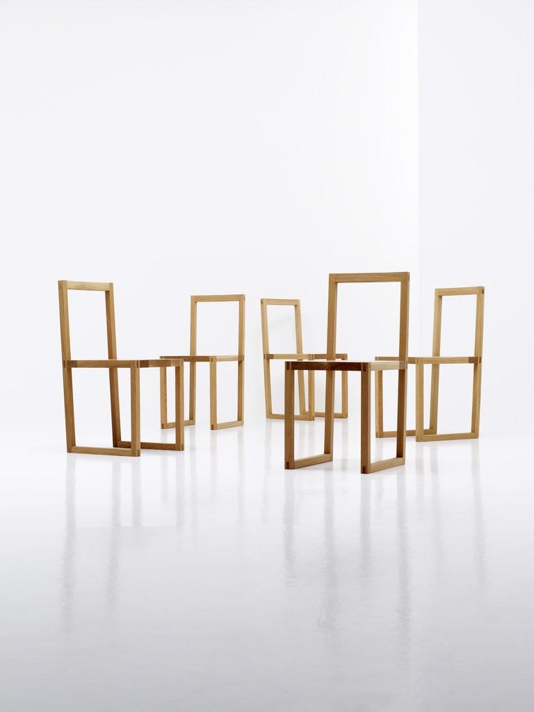 White Oak Chair Series