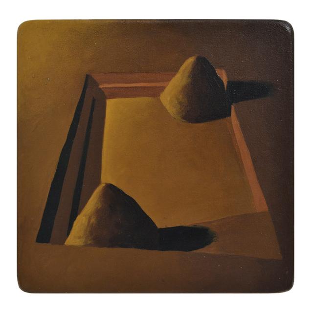 Ángel Padrón, 'Excavación', 2000, Painting, Oil on canvas adhered to wood, Galería Artizar