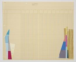 Jeanie Riddle, 'BLISS_CPD paper (yellow brooklyn28)', 2012, Galerie Antoine Ertaskiran