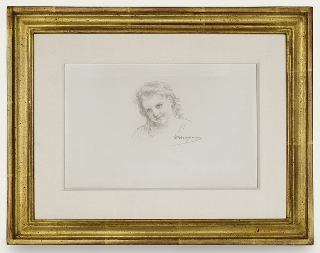 , 'Tête de petite fille,' ca. 1895, Trinity House Paintings