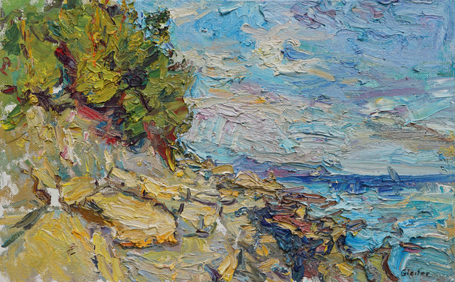 , 'Evening on the Black Sea,' 2017, Gallery 1261