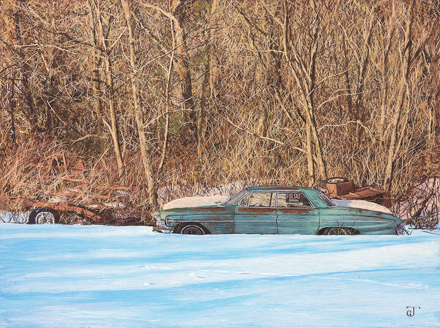 , ''61 Holiday,' 2017, William Baczek Fine Arts