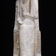 'Seated Statue of Nehy', ca. 1250-1230 B.C., Walters Art Museum