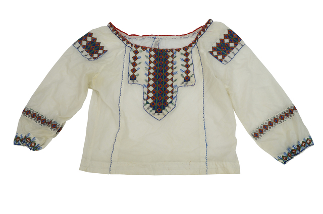 Marie Vorobieff Marevna, 'Six women's tops, Georgian embroidery on linen and cotton together with three Georgian embroidered belts, and a strip of embroidery, (10)', Roseberys