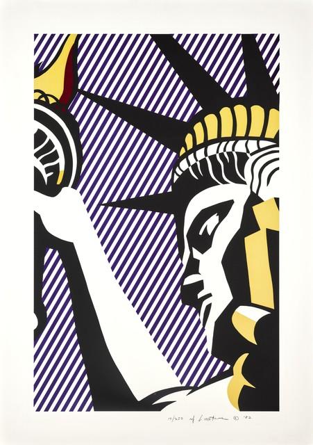 Roy Lichtenstein, 'I Love Liberty', 1982, Kings Wood Art