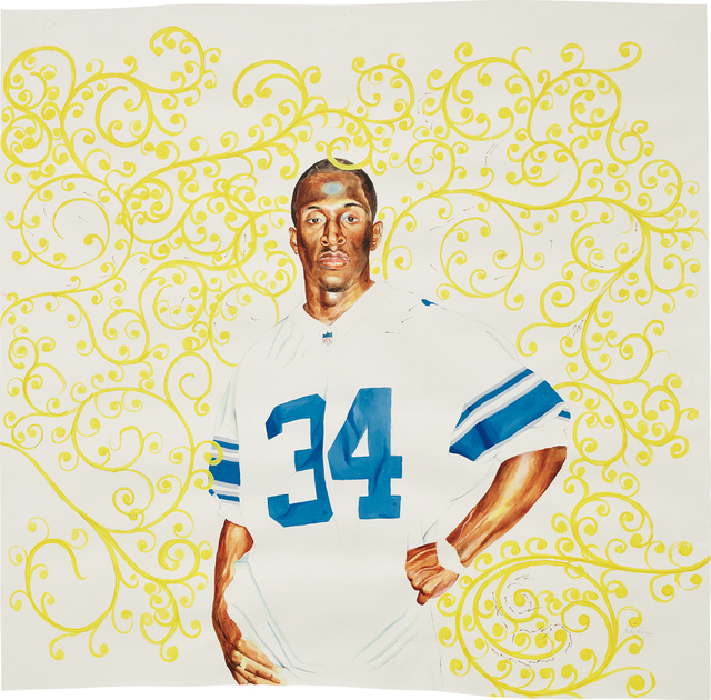 Kehinde Wiley, 'Passing/Posing (Surd Area)', 2003, Phillips