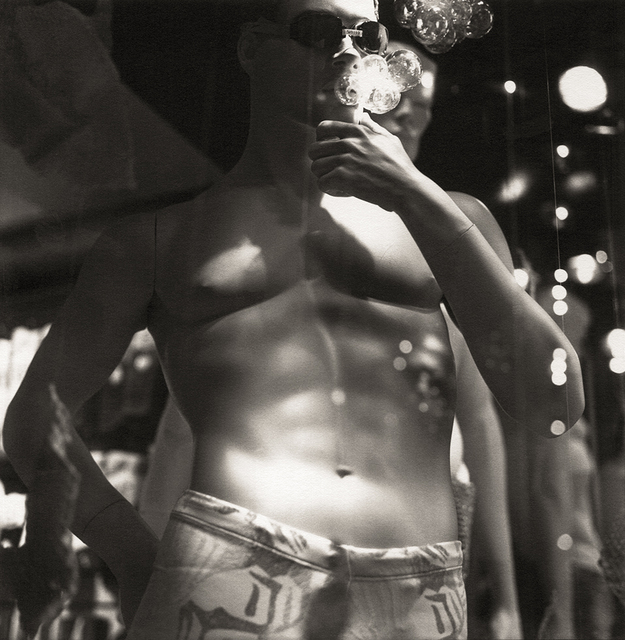 Bruce Cratsley, 'Bubble Blowers, Christopher St, NYC', 1991, ClampArt