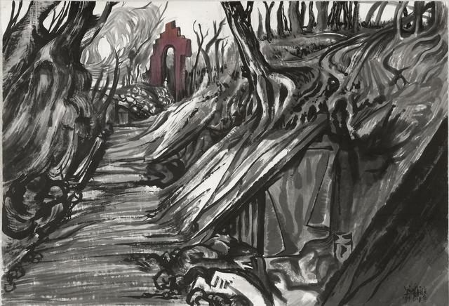 , 'Arc de Triomphe 1914-2014 凯旋门 1914-2014,' 2014, Ink Studio