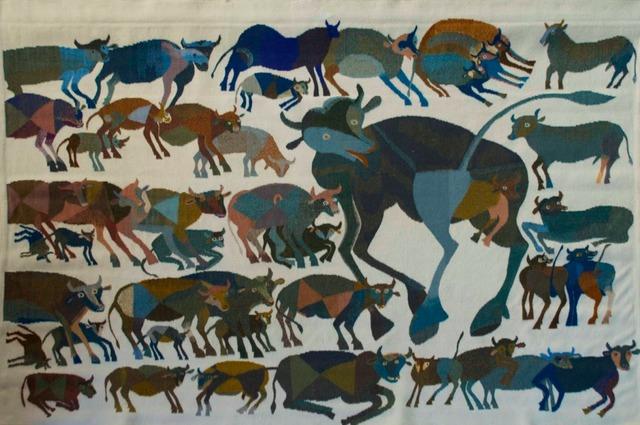 , 'Vacas,' 1971, Andrés Siegel / Arte