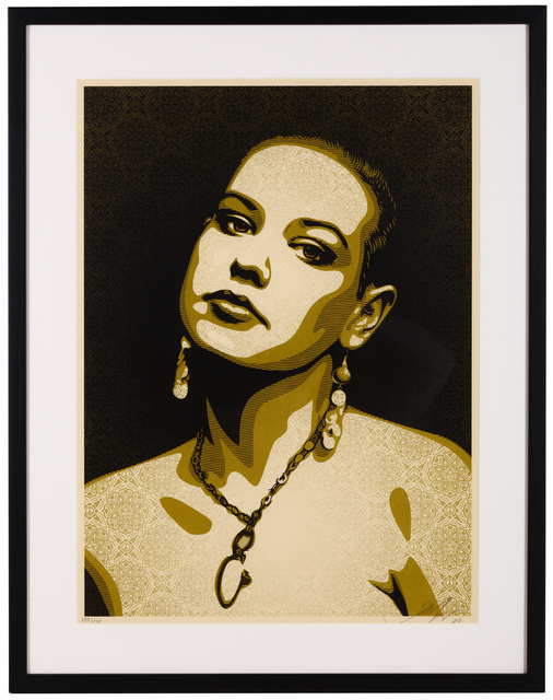 Shepard Fairey (OBEY), 'Jessica', 2009, Chiswick Auctions