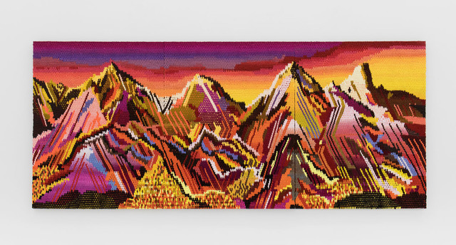 , 'Widescreen Mountain Top,' 2017, The Hole