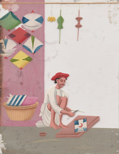 , 'The Kite Maker,' , Swaraj Art Archive
