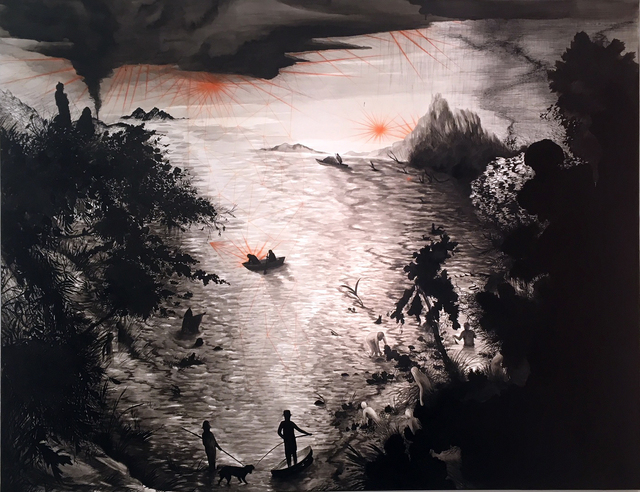Paula Otegui, 'Black link', 2018, PABELLÓN 4