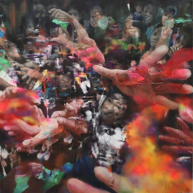 , 'Urban Scene 2,' 2018, Mazel Galerie