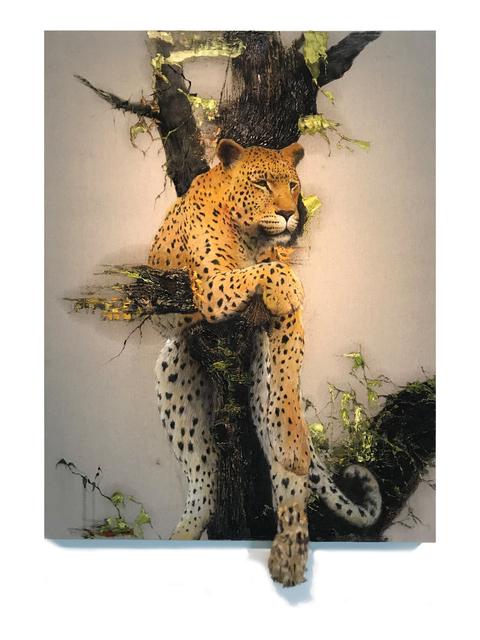 , 'Instant Landscape-Leopard#3,' 2019, ATELIER AKI
