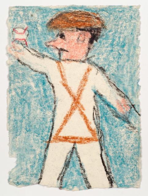 , 'Untitled (Baseball player),' n.d., Fleisher/Ollman
