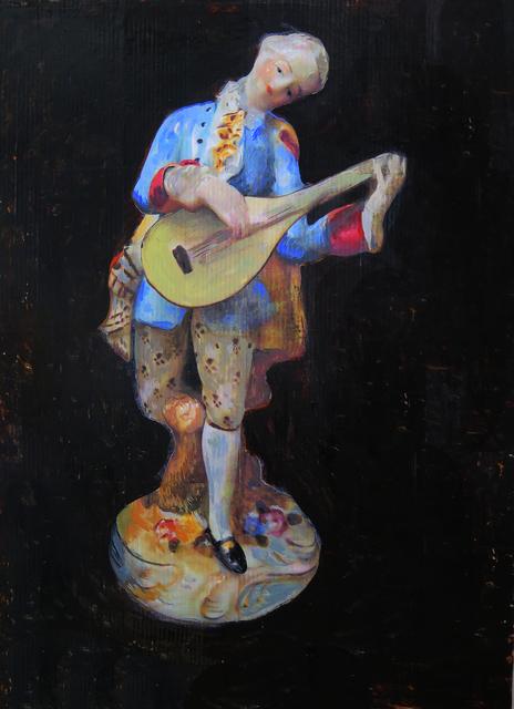 , 'Blue Musician ,' 2017, Lyons Wier Gallery