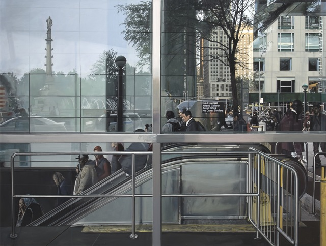 , 'Subway Entrance, Columbus Circle,' 2015, Marlborough Madrid & Barcelona