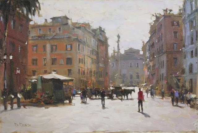, 'Piazza di Spagna,' , Cutter & Cutter Fine Art