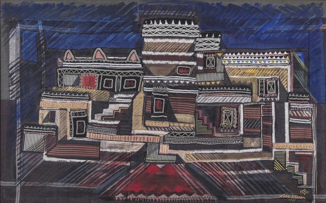 , 'Abha,' 1999, Hafez Gallery