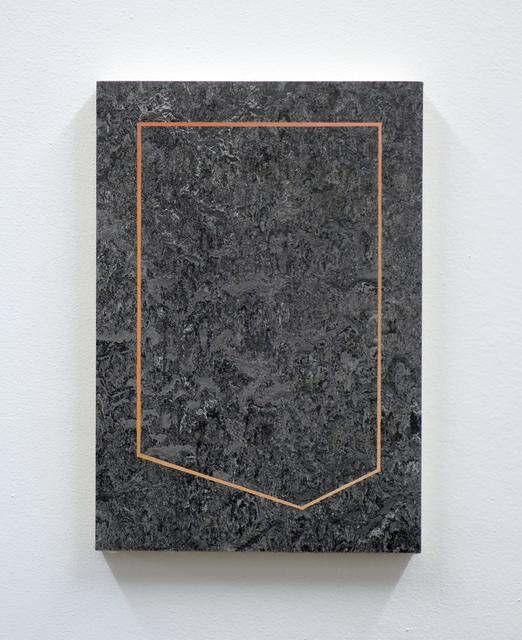 , 'Template for Venetian Marble II,' 2017, Kristin Hjellegjerde Gallery