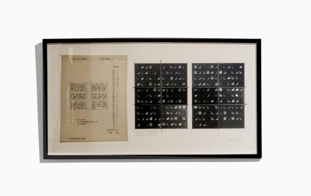 , 'Oración Lunar II, estudios y notas,' 1980, Herlitzka + Faria