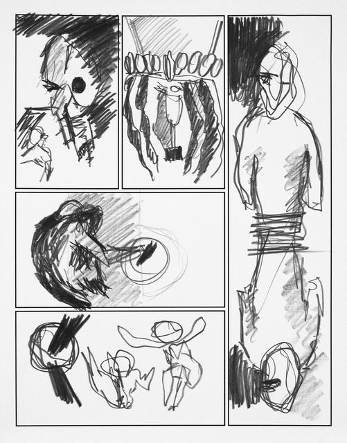Jose M. Ciria, 'Dibujo IX. Cómic Ataraxia.', 2016, Blanca Soto Arte