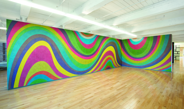 , 'Wall Drawing #793 B,' 1996, MASS MoCA