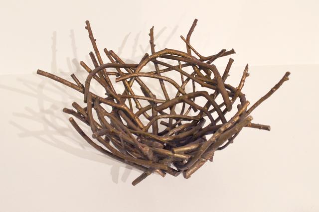 , 'Bronze Raven's Nest,' 2014, Fazakas Gallery