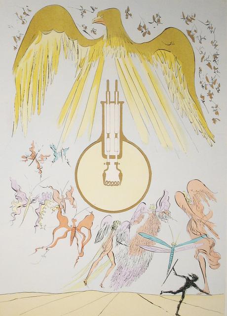 Salvador Dalí, 'Light Bulb', 1975, DTR Modern Galleries
