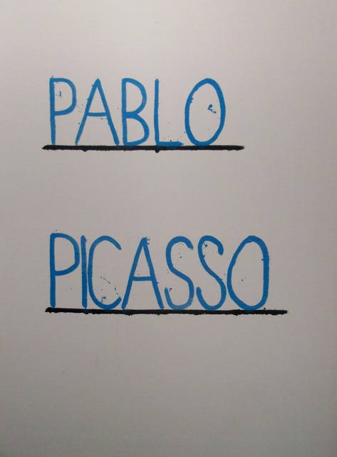 , 'Pablo Picasso,' 2015, Ponce + Robles