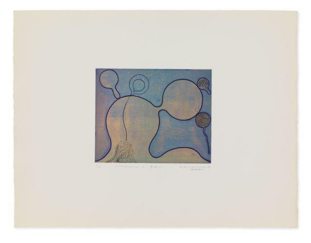 Takesada Matsutani, 'La Propagation-5', 1967, Print, Etching and burin on BFK paper, Hauser & Wirth