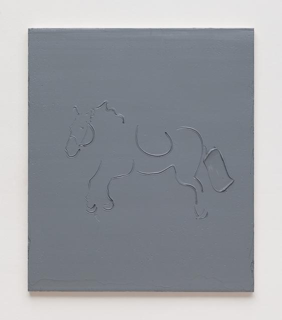 , 'Quasi due chili di un grigio scuro,' 2016, P420
