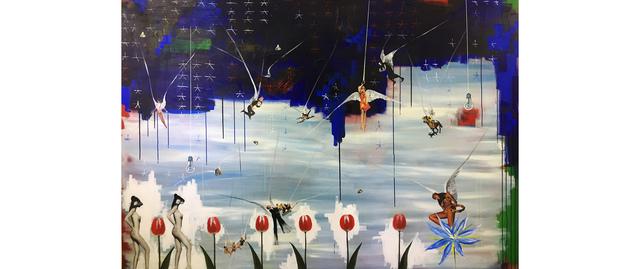 , 'Sekhmets of Paradise,' 2018, Nome