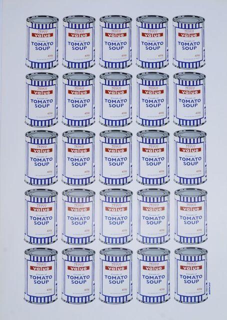 Banksy, 'Tesco Tomato Soup', 2006, Roseberys