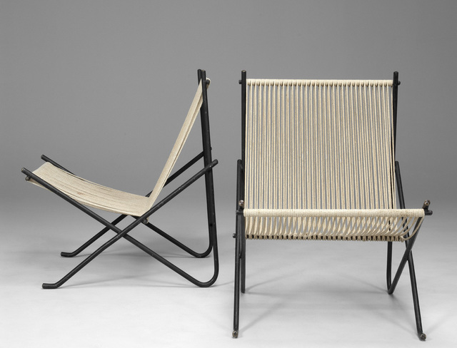 "Poul Kjærholm, 'Rare Pair of ""Holscher"" Chairs', 1952, Jacksons"