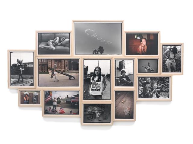 ", '""Deformer"" Image Cluster,' 1990-2017, Danziger Gallery"