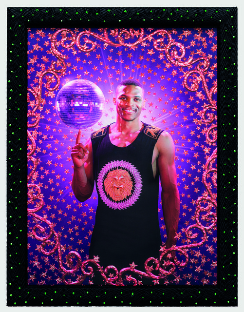 , 'Disco ball (Russel Westbrook),' 2015, Templon