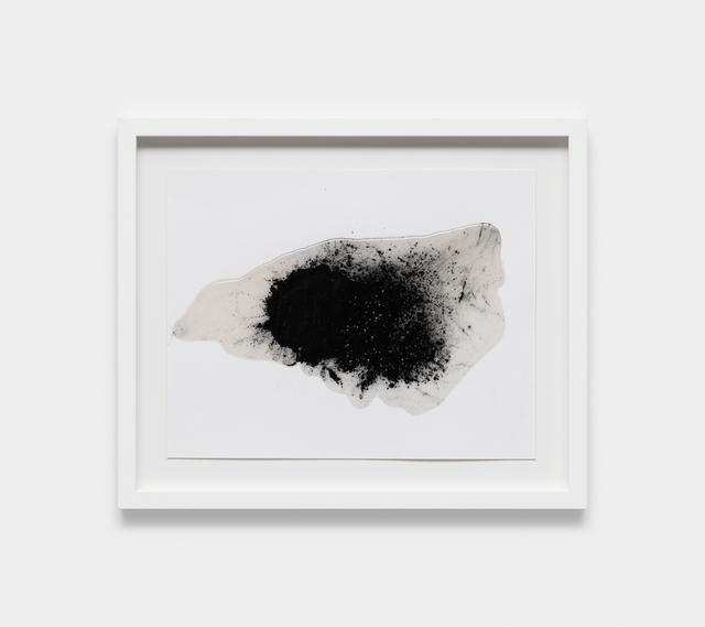 , 'fiberglass tape and resin on handmade paper,' 2018, Galeria Raquel Arnaud