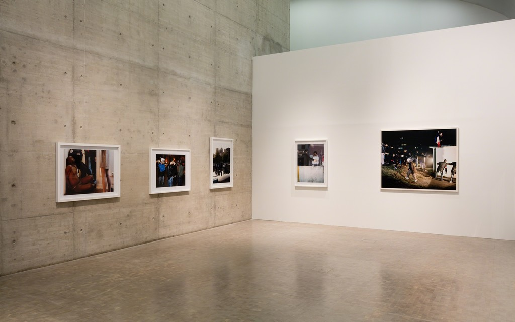 Installation view: How To Live Together, Kunsthalle Wien 2017, Photo: Stephan Wyckoff: Mohamed Bourouissa, Périphérique, 2005–08, Courtesy the artist and kamel mennour, Paris/London