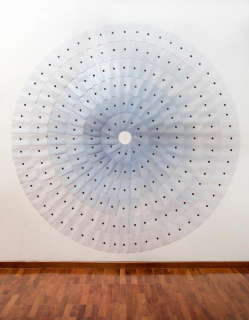 , 'Accumulations No. 11 (Suburban Sky, 9:00 a.m., 101-150 IMECA, Area Metropolitana de la Ciudad de Monterrey),' 2018, Circuit Gallery