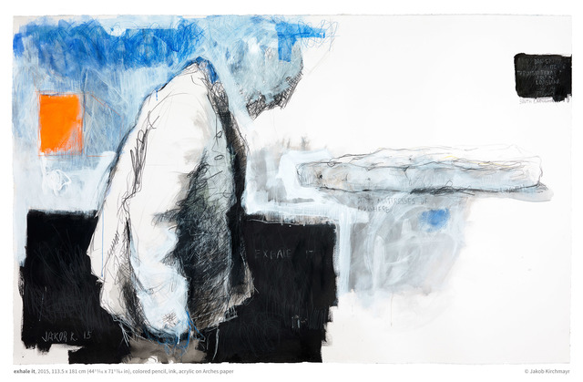 , 'Exhale It,' 2015, Galerie Ernst Hilger