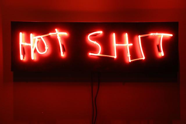, 'Hot Shit,' 2018, One Arts Club