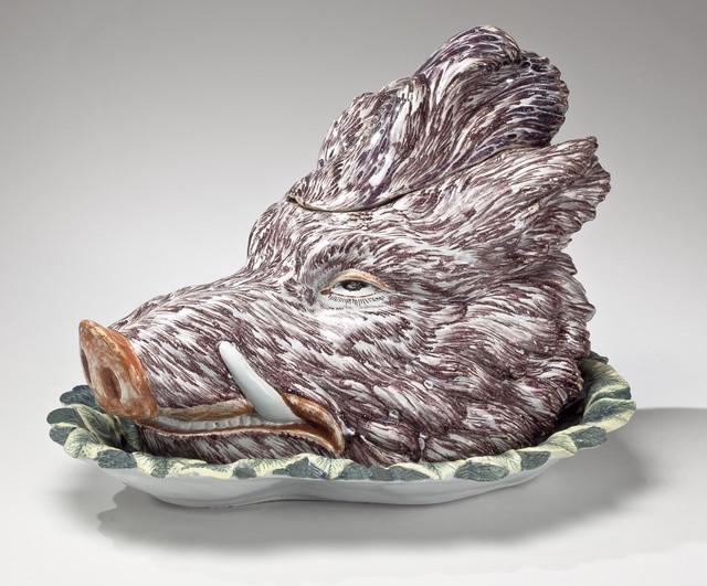 , 'Boar's head tureen,' ca. 1750-60, Michele Beiny Inc.