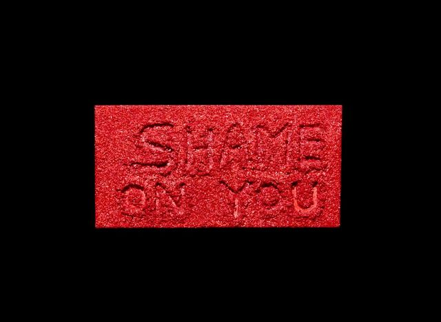 , 'Shame on You,' 2017, ABXY