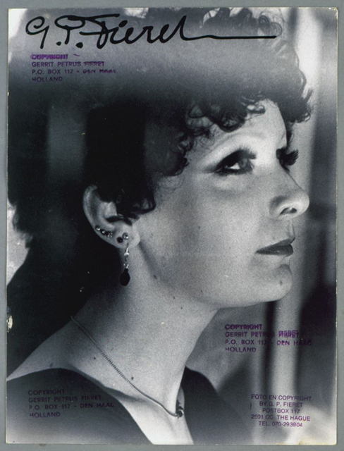 , 'Untitled (profile portrait of woman with six earings),' 1960-1970, Galerie Julian Sander